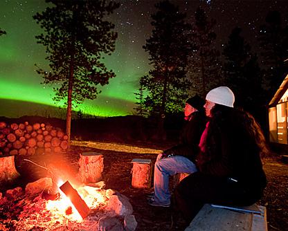 Aurora Borealis Yukon tour