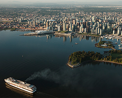 Vancouver from Air tours